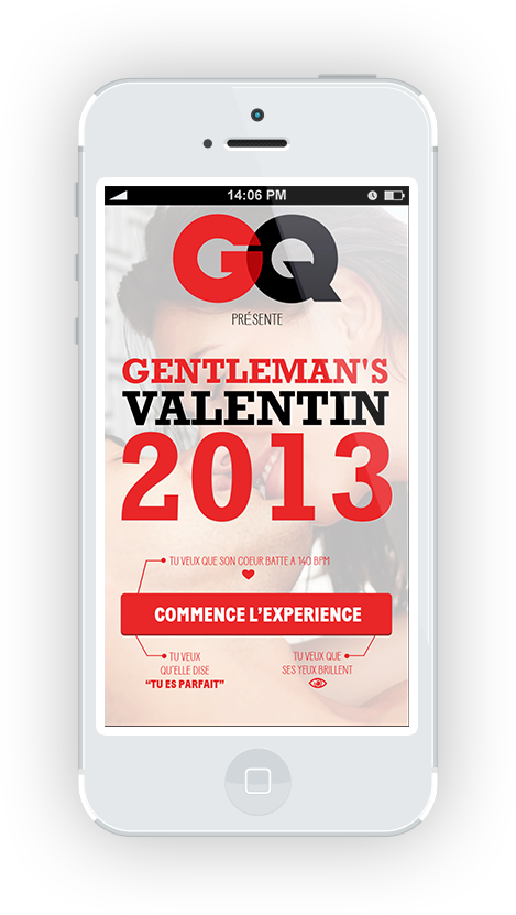 GQ sur mobile