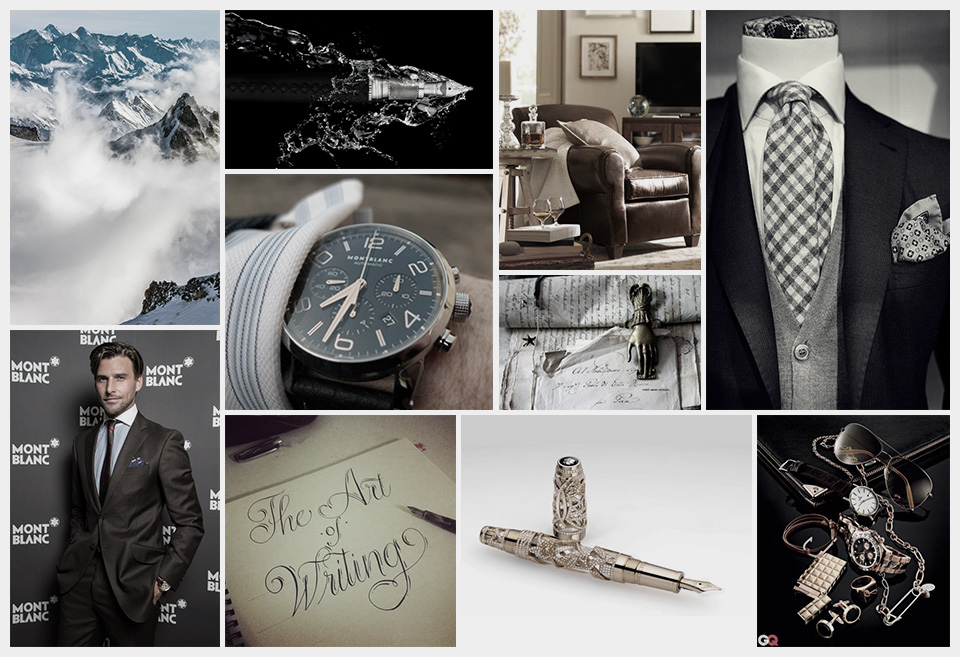 Mont Blanc Moodboard